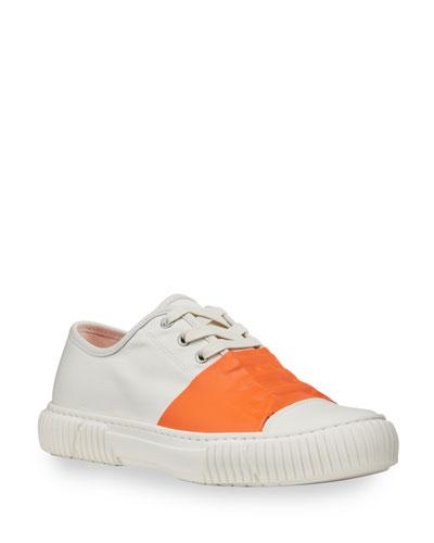 White Rubber Sneaker Neiman Marcus  Neiman Marcus