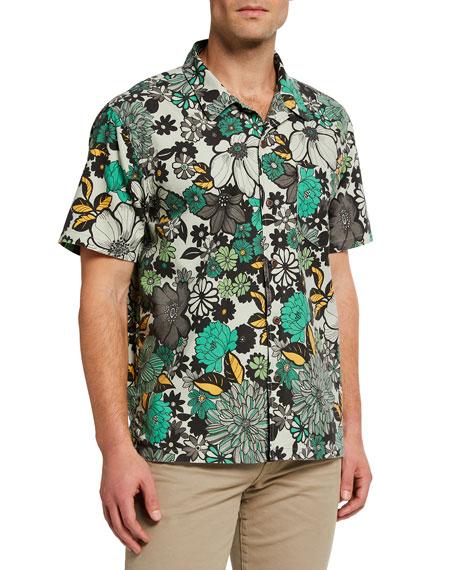 MOTHER Men's The Hooky Floral Sport Shirt