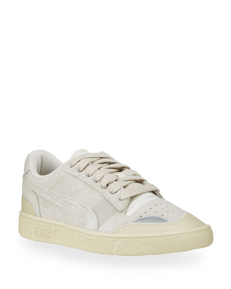 Puma x Rhude Ralph Sampson Men's Suede Low-Top Sneakers