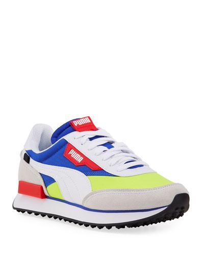 Round Puma Shoes   Neiman Marcus