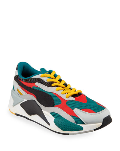 Men's RS-X Mixed-Media Runner Sneakers