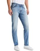 AG Adriano Goldschmied Men's Tellis Modern-Slim Jeans
