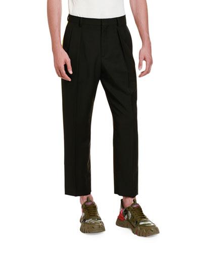 Men's Side Stripe Ankle Pants