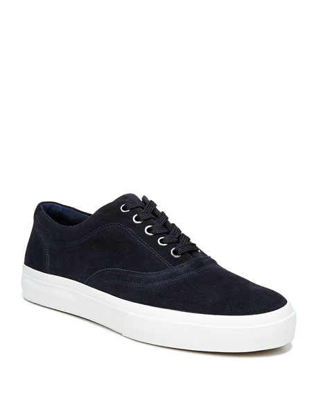 Vince Men's Fullington Suede Low-Top Sneakers