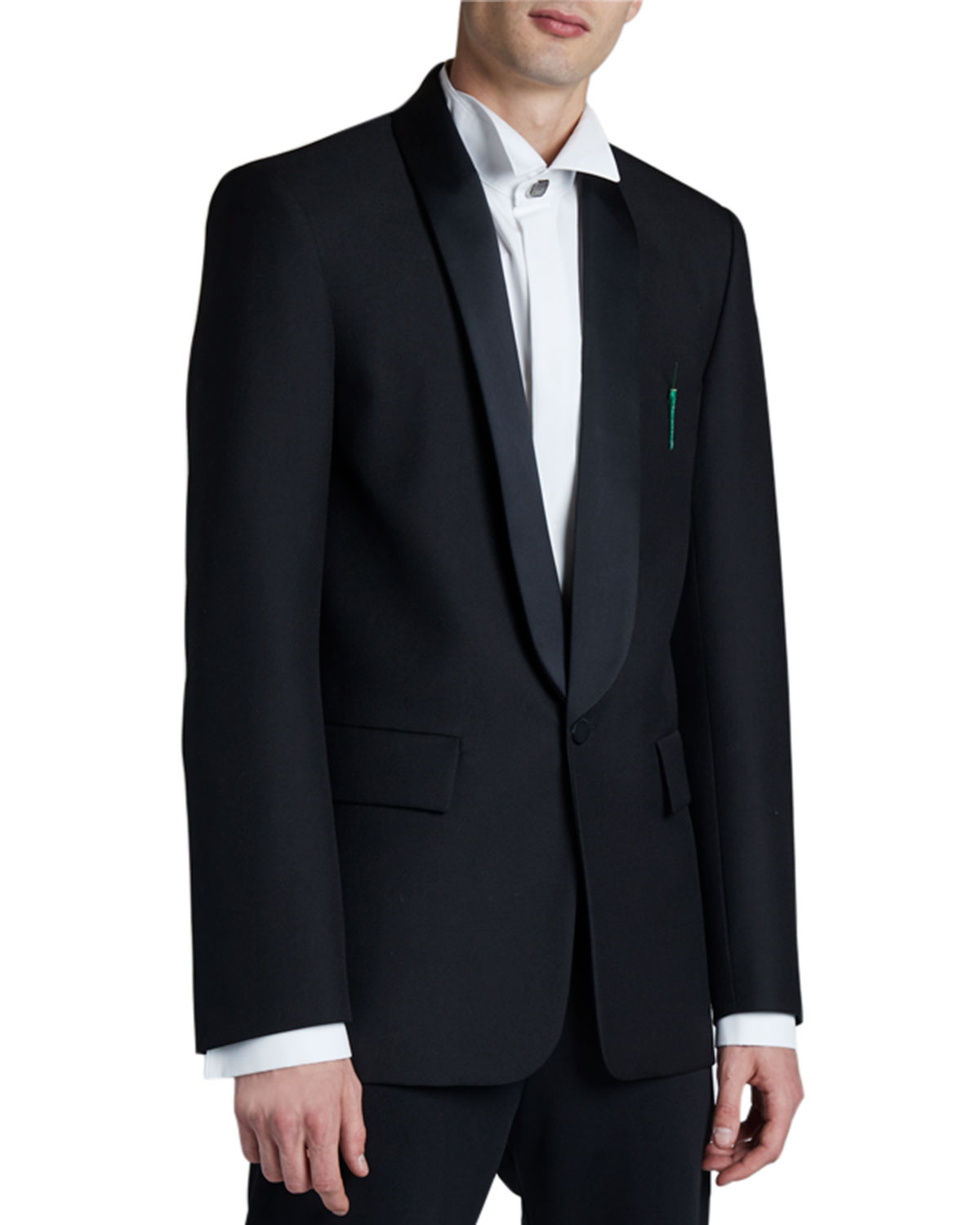 Balenciaga Downs MEN'S SEAMLESS TUXEDO JACKET