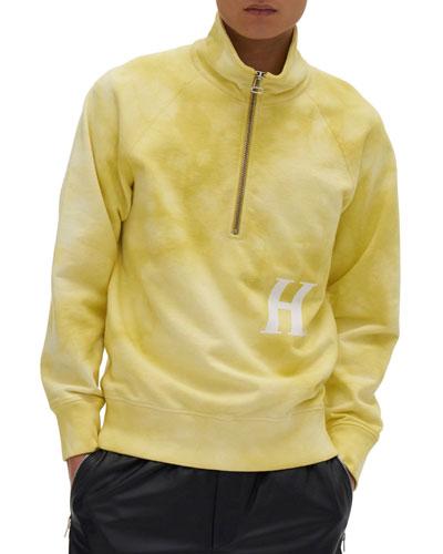 Men's H Logo 1/4-Zip Sweatshirt