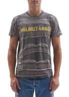 Helmut Lang Men's Marble Garment-Dyed Logo Tee