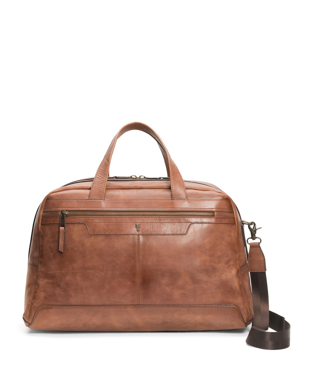 Men's Holden Burnished Leather Duffel Bag