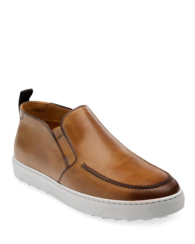 Men's Durham Leather Desert Boots