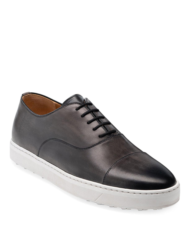 Men's Warwick Leather Oxford Sneakers