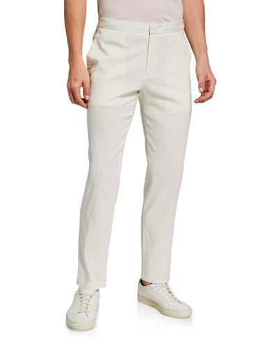 Men's Curtis Eco Crunch Linen Pants