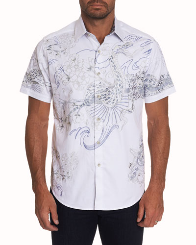 Men's Viper Graphic Sport Shirt