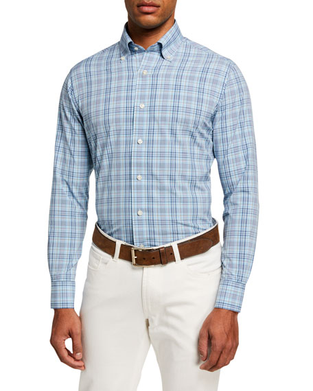 Peter Millar Men's Jarrett Natural Touch Sport Shirt