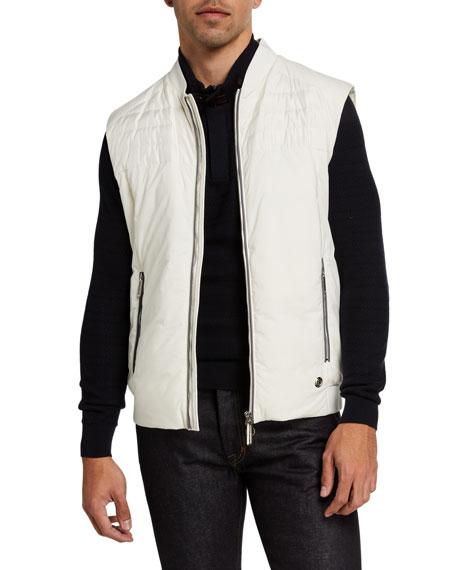Stefano Ricci Men's Down-Filled Vest