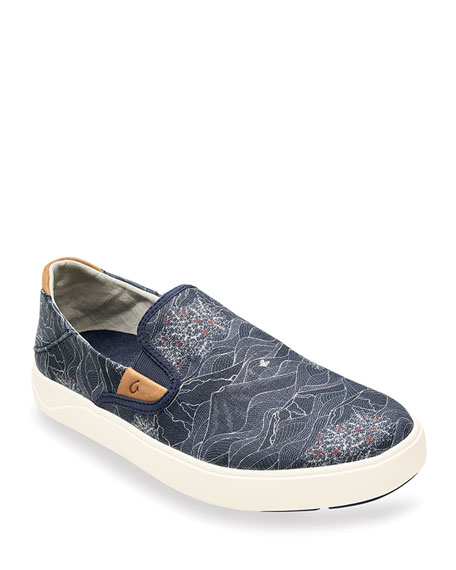Olukai Men's Lae'ahi Pa'i Slip-On Sneakers