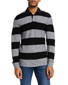 7 for all mankind Men's Wool Rugby Stripe