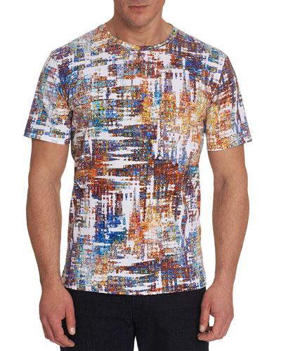 Men's Axle Brushstroke Crewneck T-Shirt