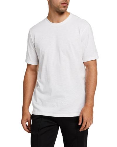 Men's Pull Up Short-Sleeve Logo Tee