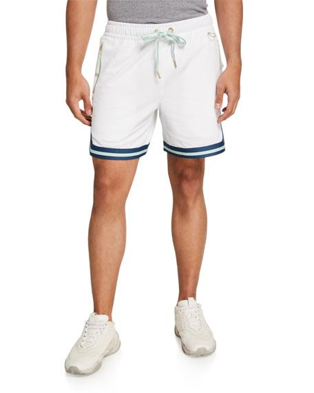 Puma Men's Step Back Zip-Pocket Athletic Shorts