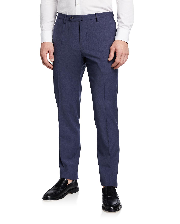 Men's Super 120s Wool Twill Pants