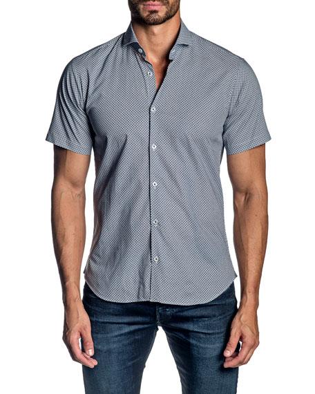 Jared Lang Men's Short-Sleeve XO Sport Shirt