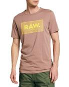 G-Star Men's Raw Boxed Logo T-Shirt