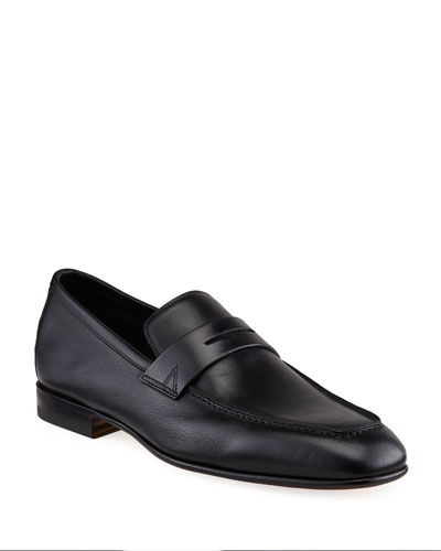 Men's Imam Soft Leather Penny Loafers