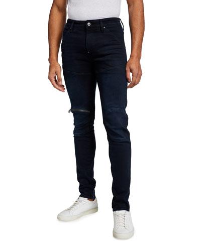 Men's 5620 Knee-Zip Skinny Jeans