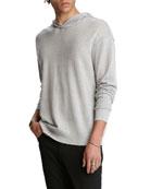 John Varvatos Men's Easy-Fit Hoodie Sweater w/ Reverse