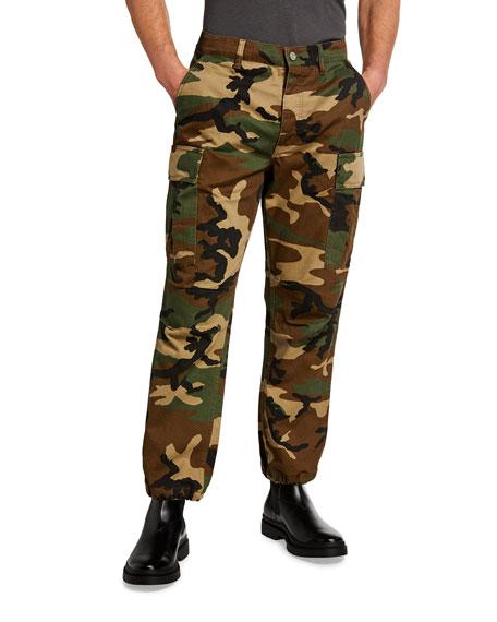 PURPLE Men's Camo Cargo Pants