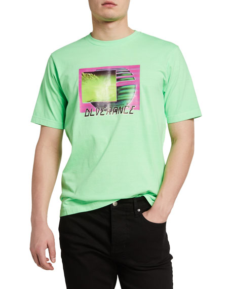 Diesel Men's Just Neon Graphic T-Shirt