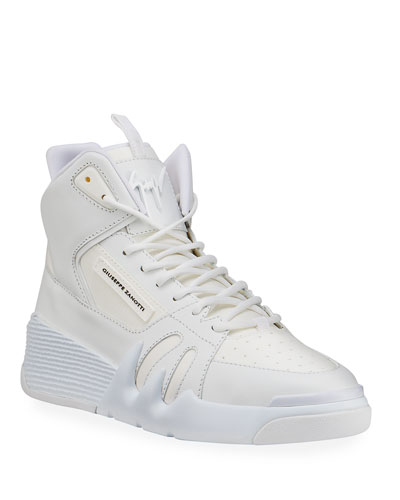 Men's Talon Tonal Leather High-Top Sneakers