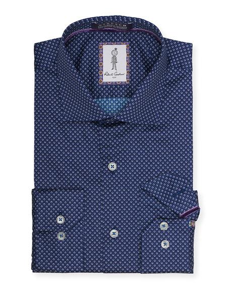 Robert Graham Men's Rodgers Patterned Dress Shirt