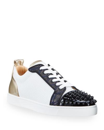 Louboutin Spike Shoes   Neiman Marcus