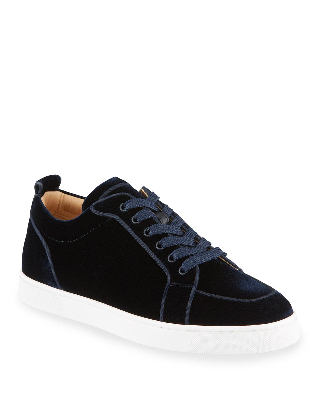 Men's Rantulow Orlato Velvet Low-Top Sneakers