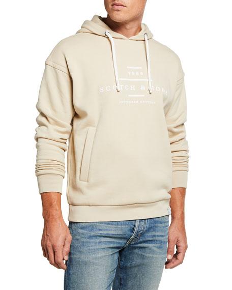 Scotch & Soda Men's Logo Pullover Hoodie