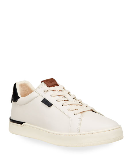 Coach Men's Lowline Lightweight Leather Low-Top Sneakers