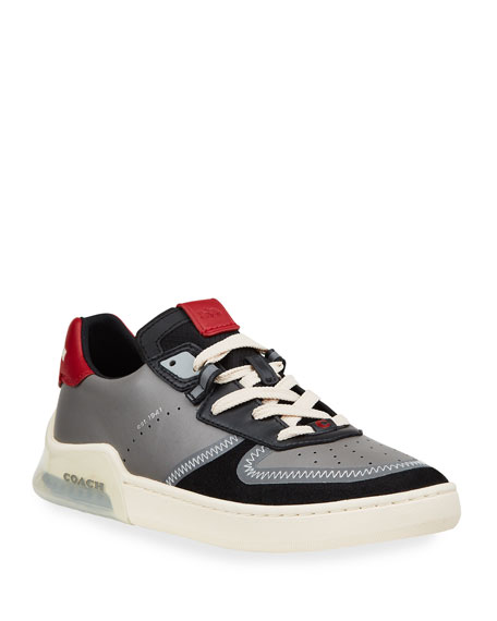 Coach Men's CitySole Lightweight Leather Court Sneakers