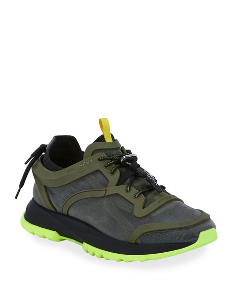 Givenchy Men's Spectre Caged Running Sneakers
