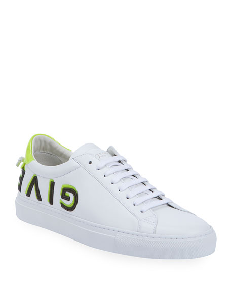Givenchy Men's Urban Street Logo Low-Top Sneakers