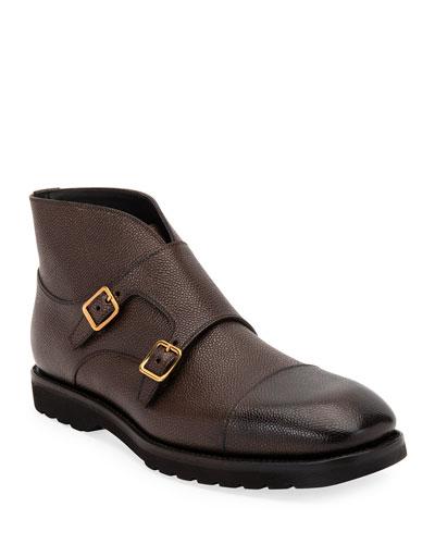 Men's Kensington Double-Monk Boots