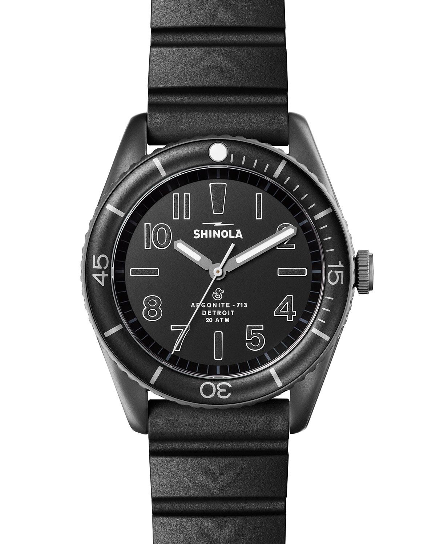 Men's 42mm The Duck Water-Resistant Watch w/ Rubber Strap