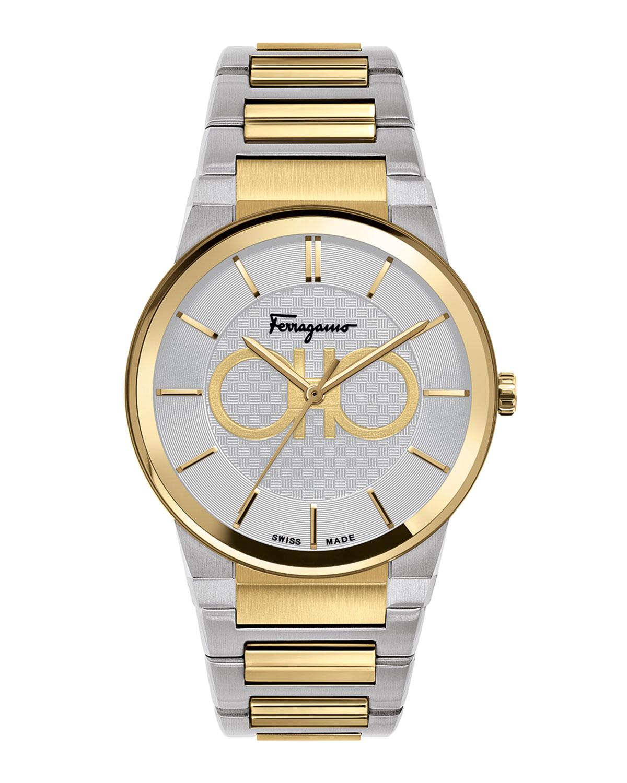 Men's 41mm Two-Tone Bracelet Watch