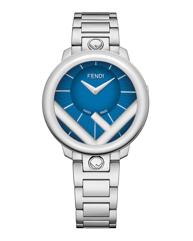 Men's 36mm Stainless Steel Bracelet Watch