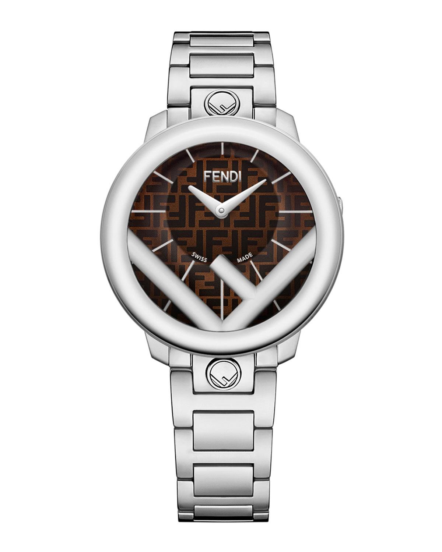 Men's 36mm FF Stainless Steel Bracelet Watch