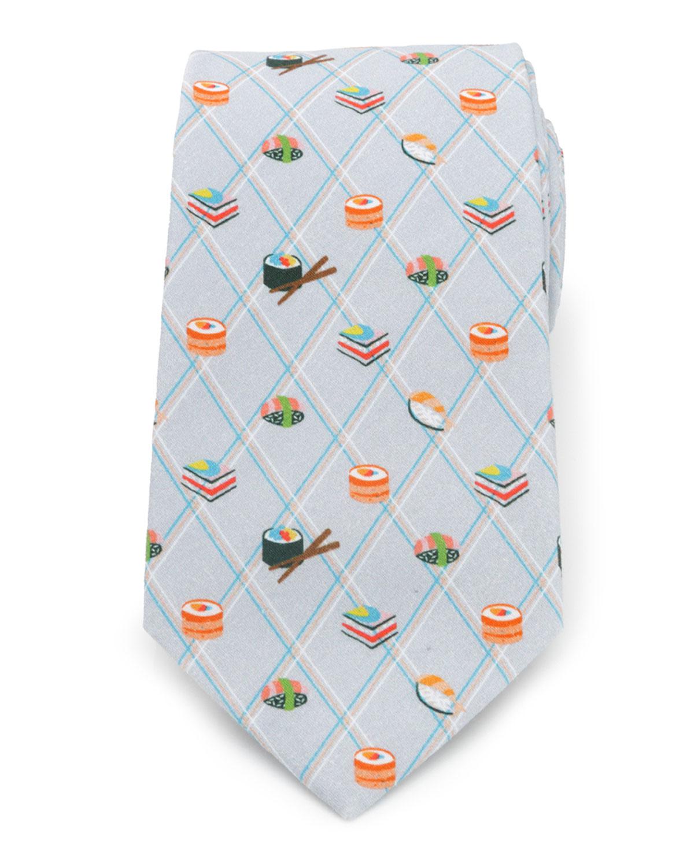 Men's Sushi-Print Tie