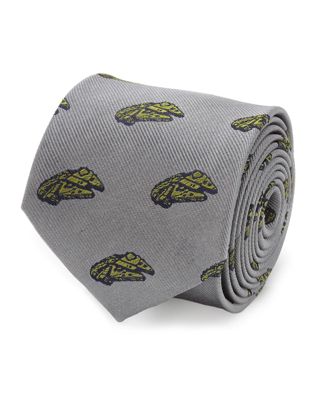 Men's Star Wars Millennium Falcon Silk Tie