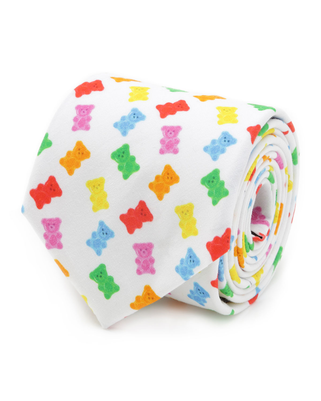 Men's Gummy Bear Cotton Tie