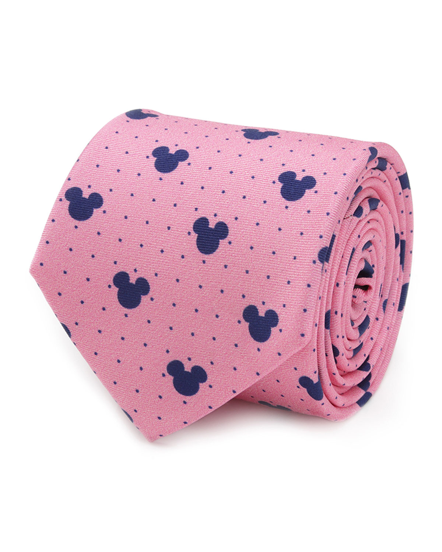 Men's Mickey Mouse Dot Silk Tie