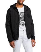 Fendi Men's FF Water Reveal Wind-Resistant Jacket